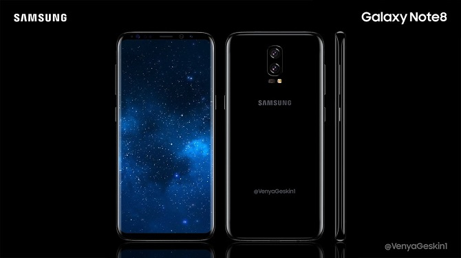 Samsung galaxy note8 ra mắt