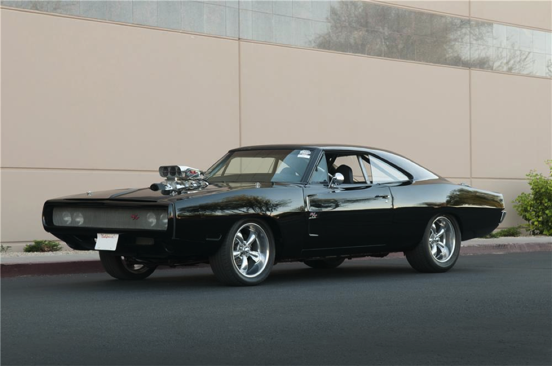 dodge charger 1970 trong fast and furius