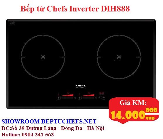 Mua bếp từ chefs inverter DIH888 chỉ với giá 14 triệu đồng