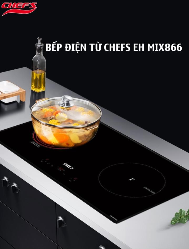 Có nên mua bếp điện từ Chefs EH MIX866 không?