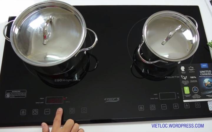 5 điểm nhấn trên bếp từ chefs eh dih321