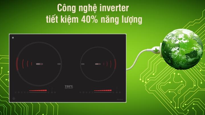 công nghệ inverter bếp từ topy