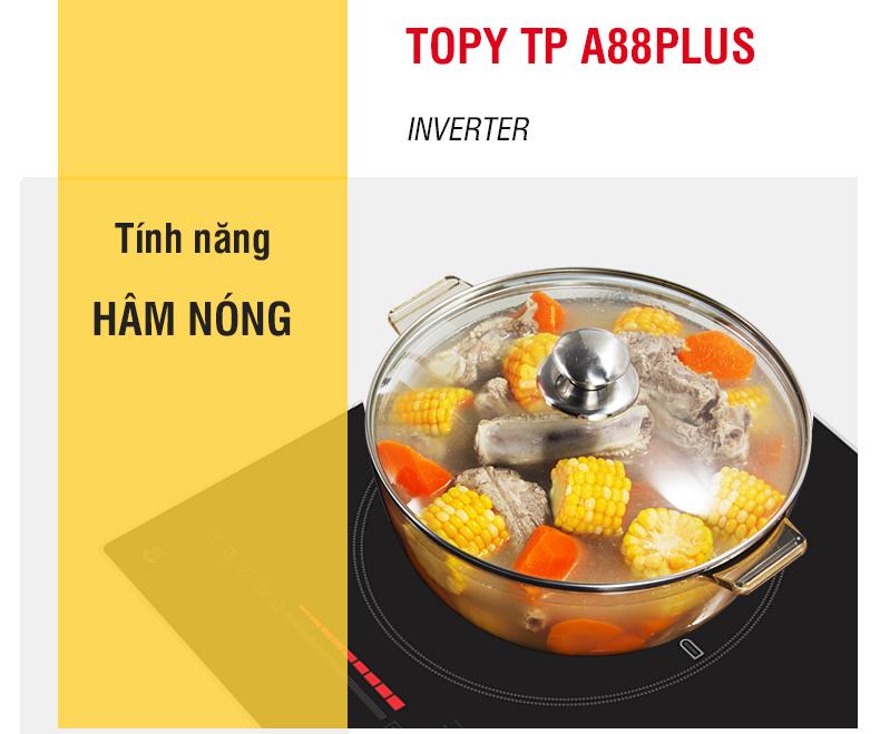 tính năng bếp từ topy a88 plus