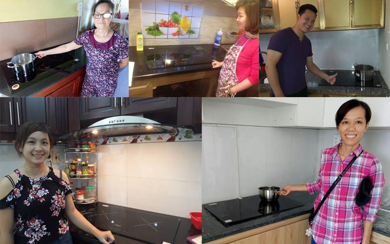 độ bền bếp từ chefs