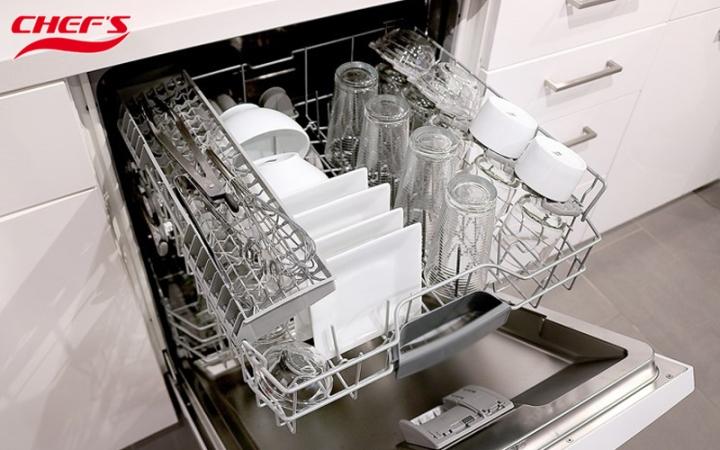 máy rửa bát chefs có sấy khô không