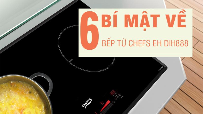 6 bí mật về bếp từ chefs eh dih888