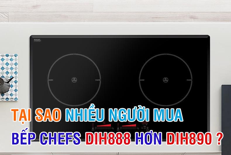 tại sao bếp chefs dih890 ít mua hơn dih888