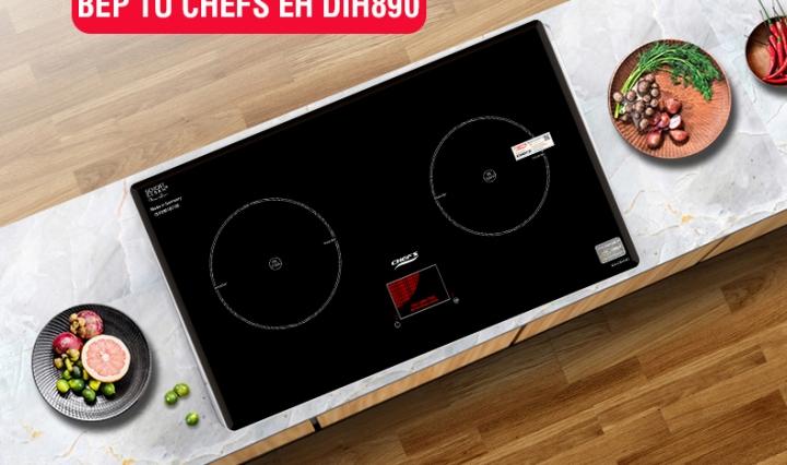 khuyến mãi bếp từ chefs eh dih890