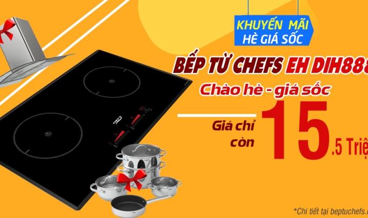 KHUYẾN MÃI bếp từ chefs eh dih888