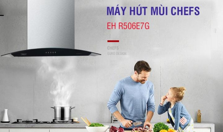 máy hút mùi chefs eh r506e7g-100