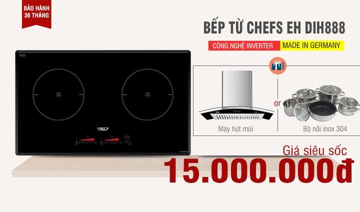 bếp chefs dih888 giá 15 triệu