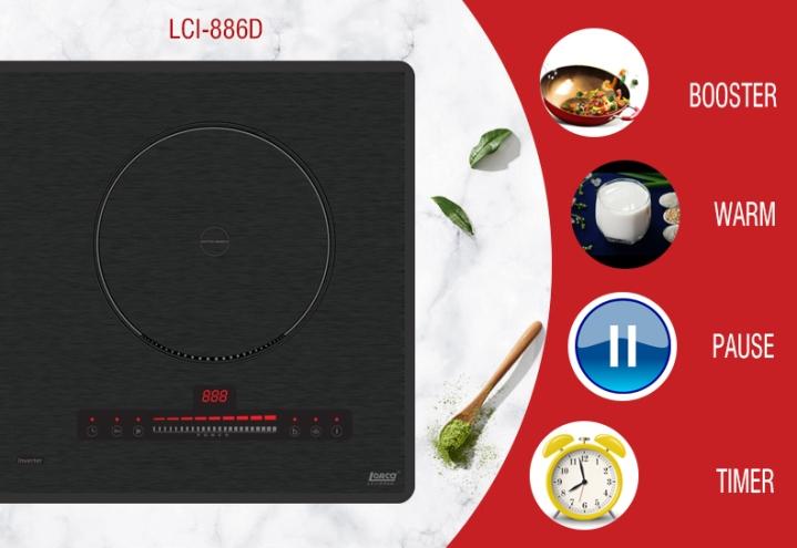 bếp từ lorca lci886d