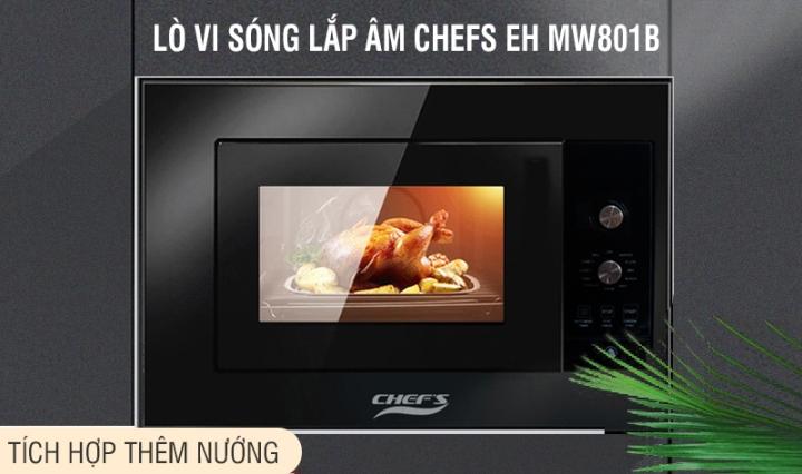 lò vi sóng chefs eh mw801b