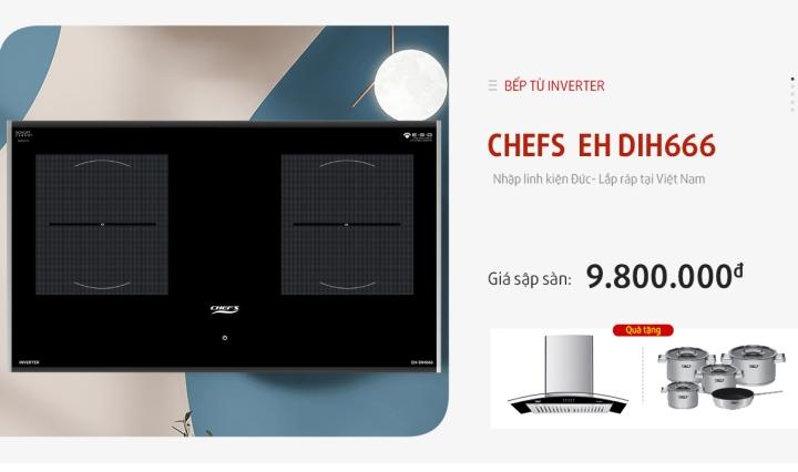 bếp từ chefs eh dih666